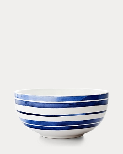 Côte d'Azur Striped Bowl
