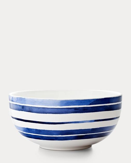 Côte d'Azur Striped Bowl
