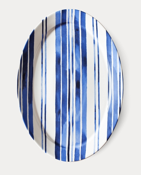 Côte d'Azur Striped Platter