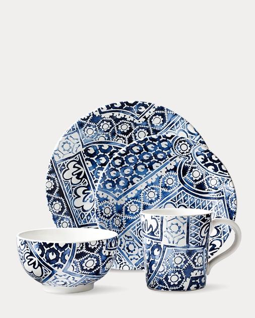 Cote d'Azur Batik Dinnerware Collection