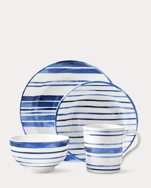 Cote d'Azur Striped Dinnerware Collection