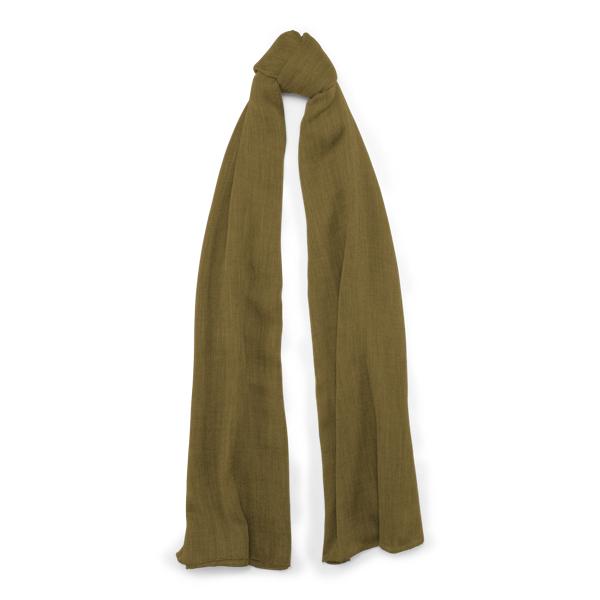 Ralph Lauren Cash Sf-Oblong Scarf-Cashmere Olive One Size