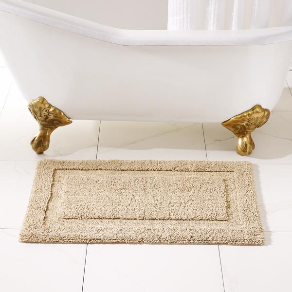 Ralph Lauren Wescott Bath Rug Weathered Stone Bath Mat