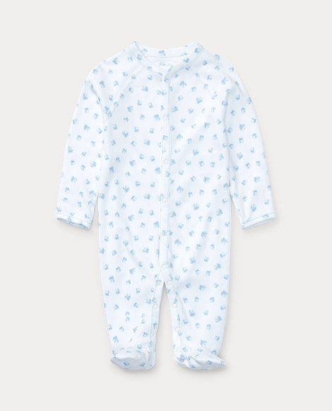 Block-Print Cotton Coverall