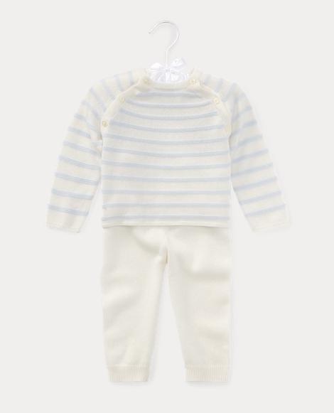Cashmere Sweater & Pant Set