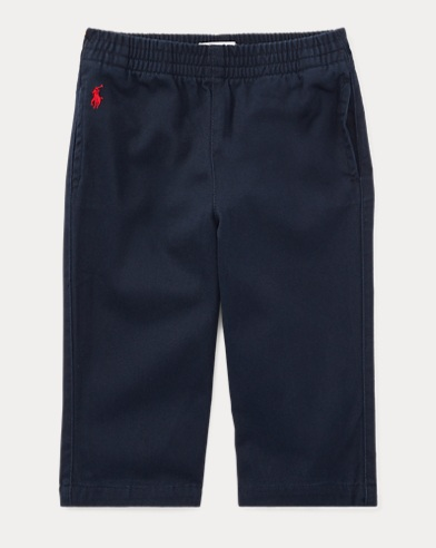Cotton Twill Pull-On Pant