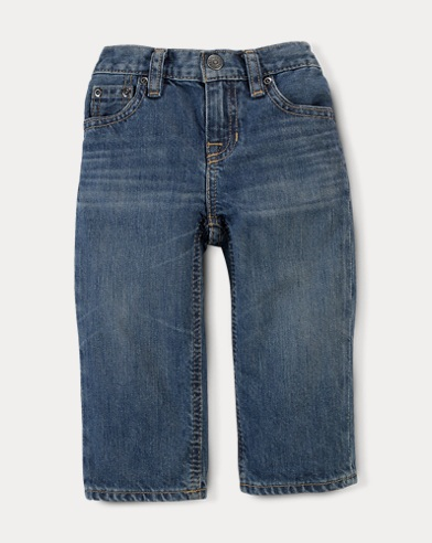 Classic Fit Faded Jean