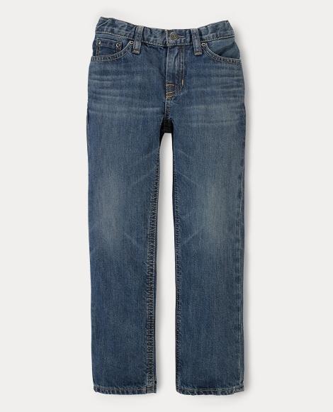 Slim Fit Faded Jean