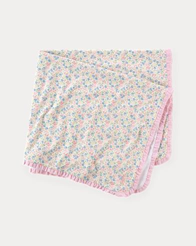 Floral Cotton Blanket