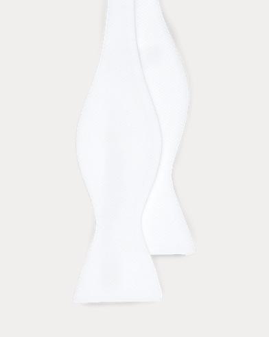 Cotton Piqué Bow Tie