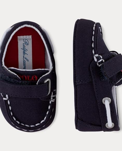Sander Cotton EZ Boat Shoe