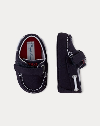 Sander Cotton EZ Boat Shoe