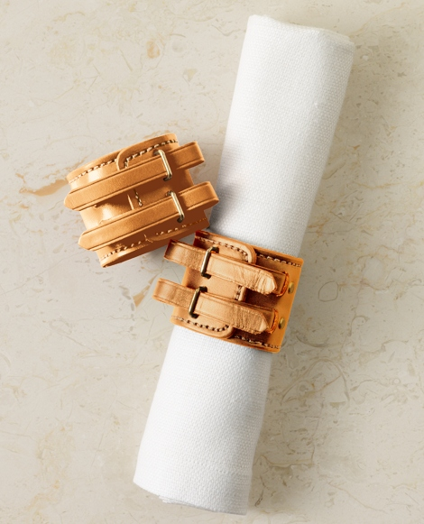 Rollins Leather Napkin Ring