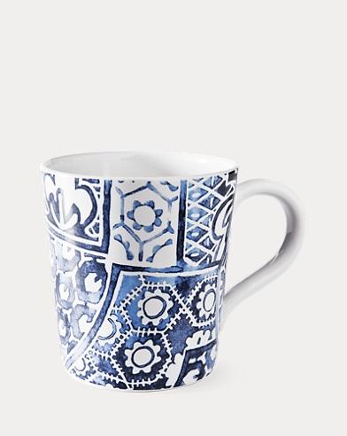 Côte d'Azur Batik Mug