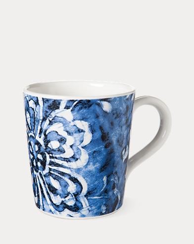 Côte d'Azur Floral Mug