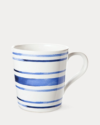 Côte d'Azur Striped Mug