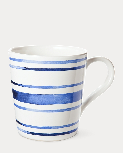 Côte d'Azur Striped Mug