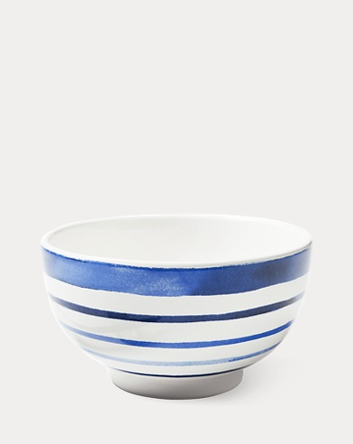 Côte d'Azur Stripe Cereal Bowl