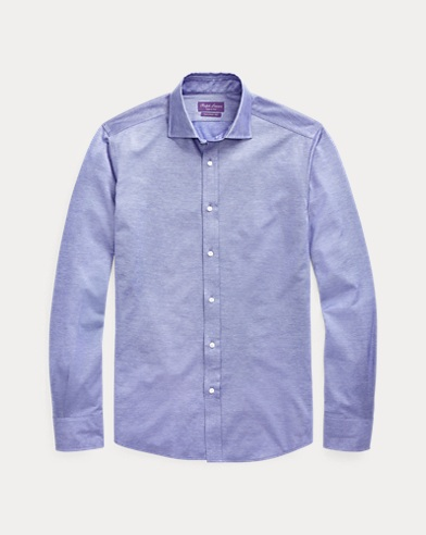 Knit Cotton Sport Shirt