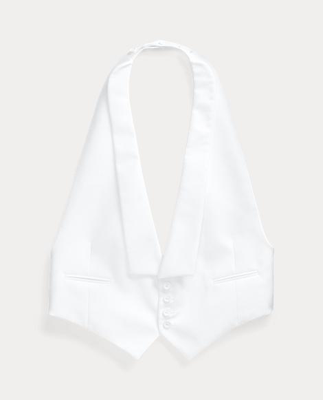 Cotton Piqué Vest