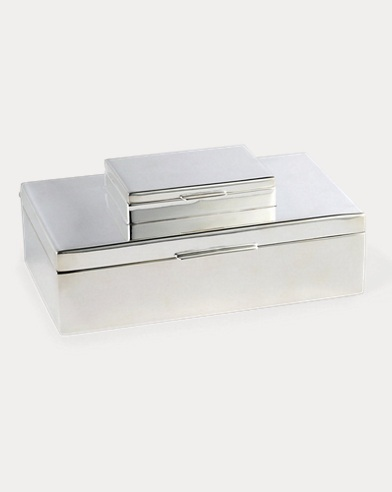 Beckbury Stacked Silver Box
