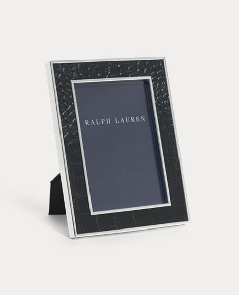 Chapman Embossed Leather Frame