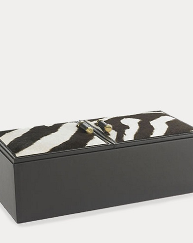 Chatwin Zebra-Printed Box