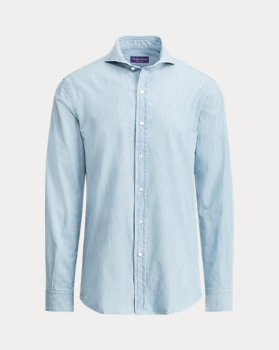 Keaton Tailored Chambray Shirt