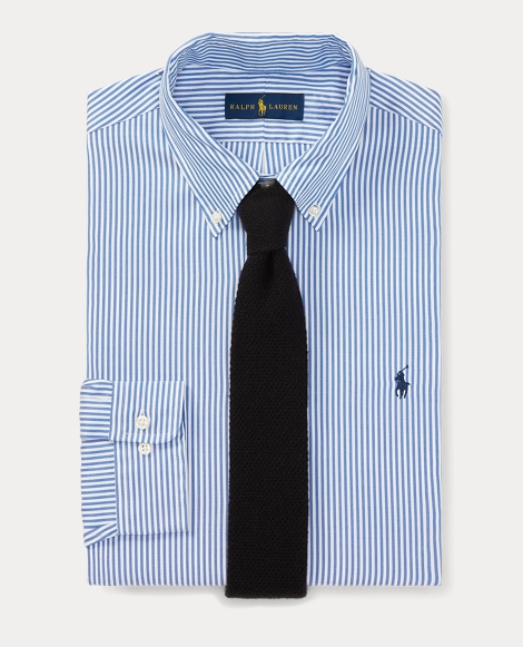 Striped Oxford Dress Shirt