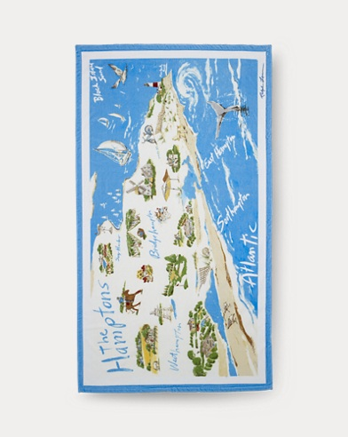Hamptons Beach Towel