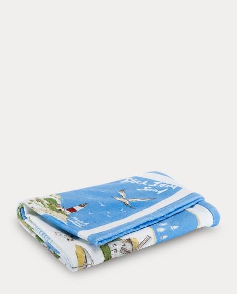 Ralph Lauren Greek Isles Beach Towel: Bath & Beach Towels