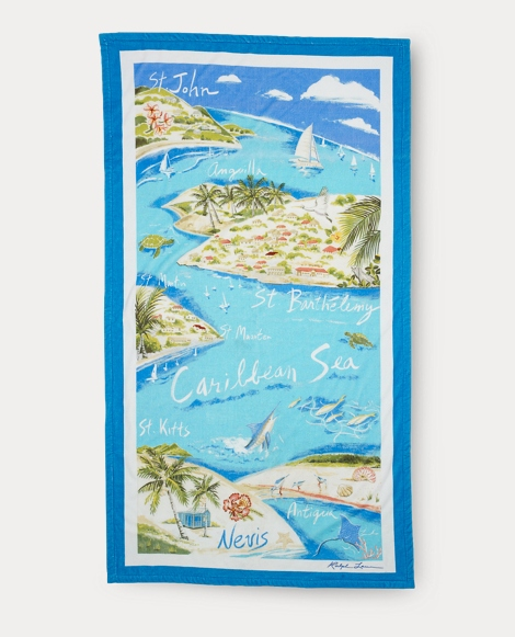 Caribbean Beach Towel