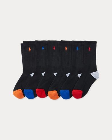 Athletic Crew Sock 6-Pack