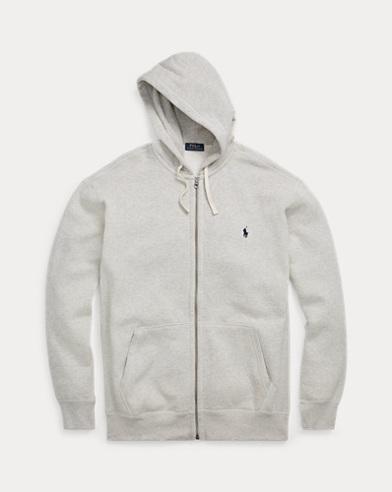 Cotton-Blend-Fleece Hoodie