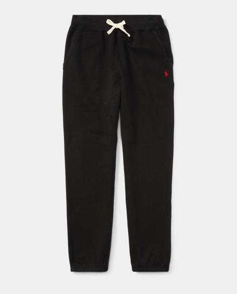 Cotton-Blend-Fleece Pant