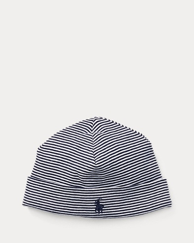 Striped Cotton Hat
