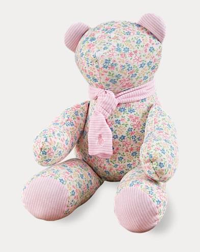 Floral Plush Bear