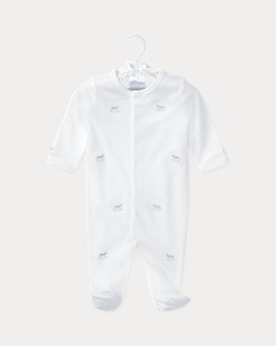 Rocking Horse Cotton Coverall