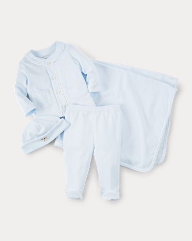 Cotton 4-Piece Set
