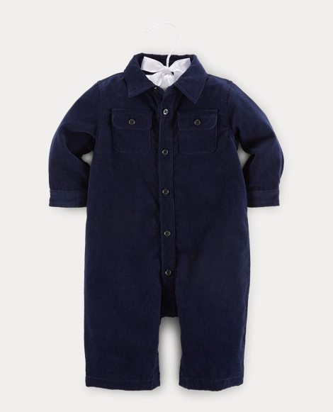 Cotton Corduroy Coverall