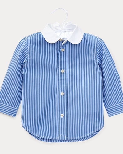 Striped Cotton Club Shirt