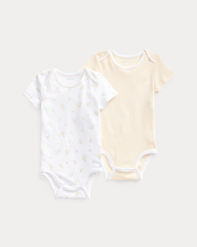 Cotton Bodysuit 2-Piece Set