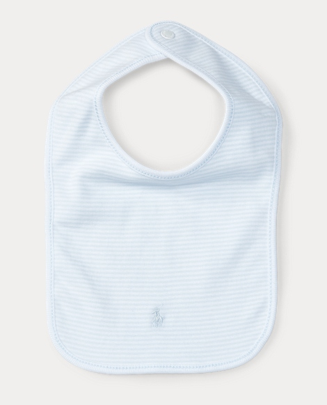 Striped Cotton Bib