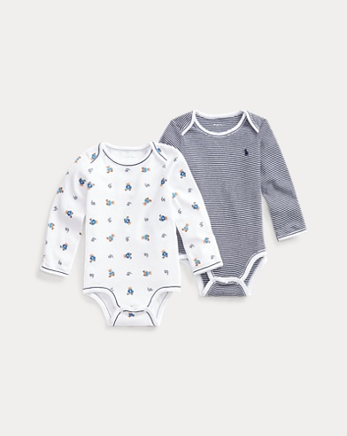 Cotton Bodysuit 2-Pack