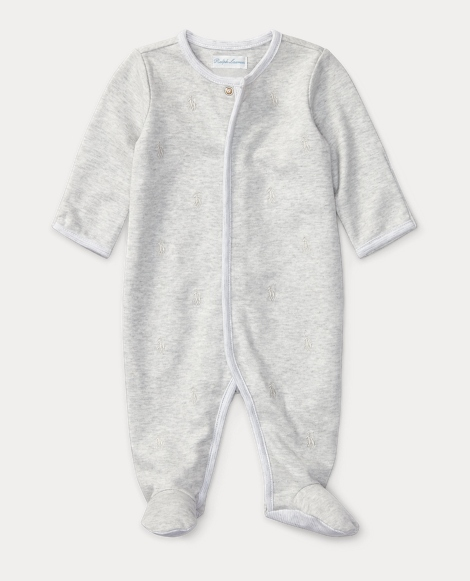 Pony Cotton Footed Coverall