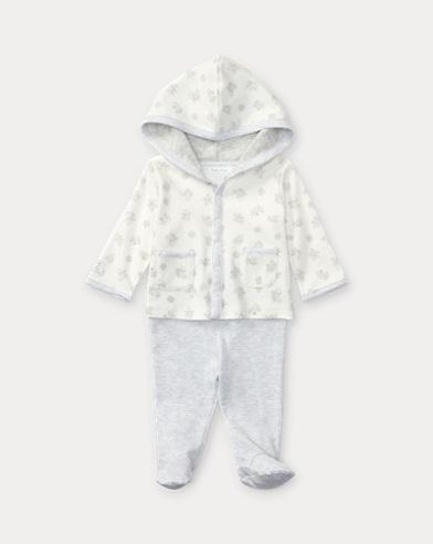 Cotton Hoodie & Pant Set