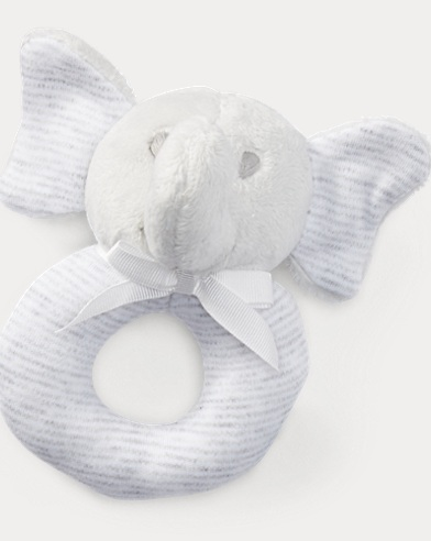 Striped Elephant Rattle