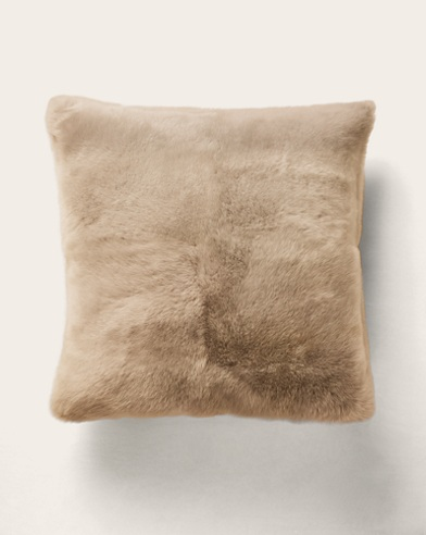 Brighton Cream Throw Pillow