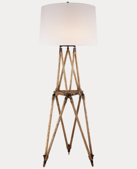 Quincy Oak Floor Lamp