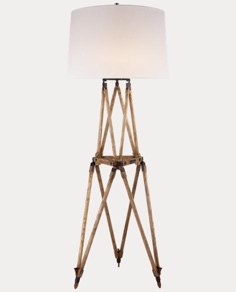 Quincy Oak Floor Lamp